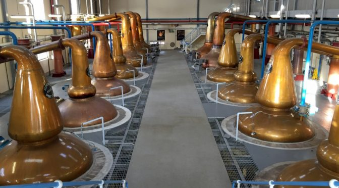 Pot still at Glenfiddich